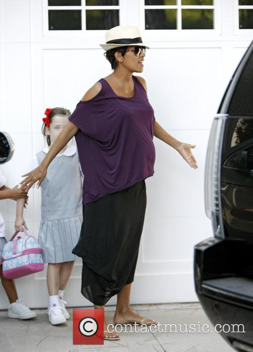 halle berry heavily pregnant halle berry 3857974