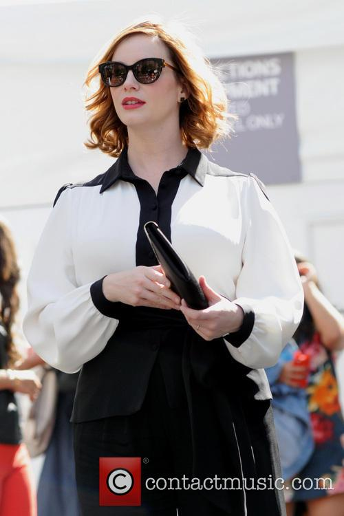 christina hendricks new york fashion week  3857116