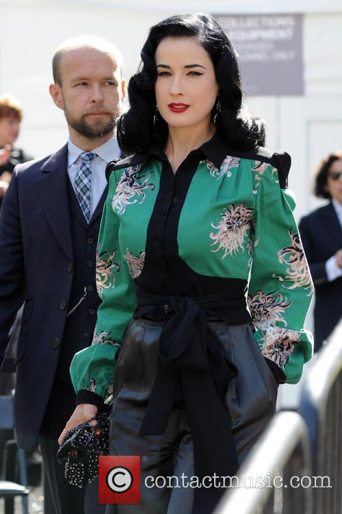 Dita Von Teese, New York Fashion Week