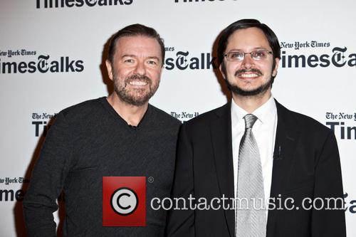 Ricky Gervais and Dave Itzkoff 4