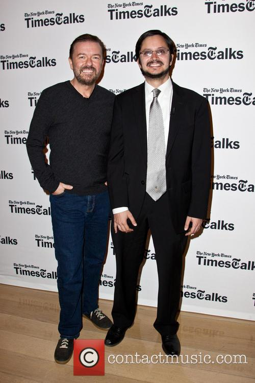 Ricky Gervais and Dave Itzkoff 10