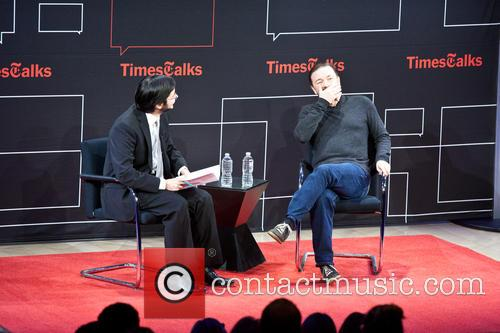 Ricky Gervais and Dave Itzkoff 7