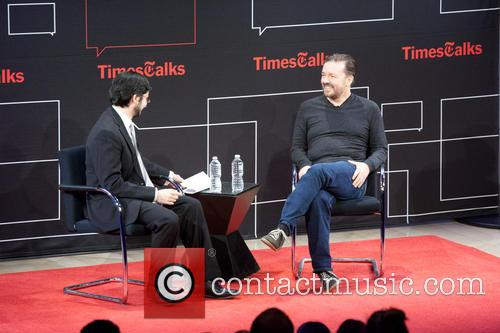 Ricky Gervais and Dave Itzkoff 9