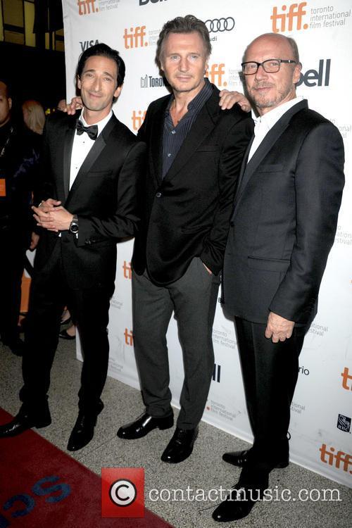 Adrien Brody, Liam Neeson and Paul Haggis 5