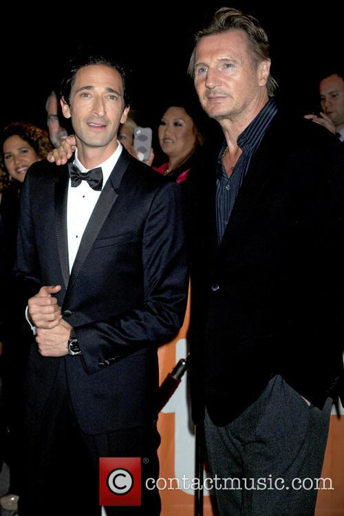 Adrien Brody and Liam Neeson 2