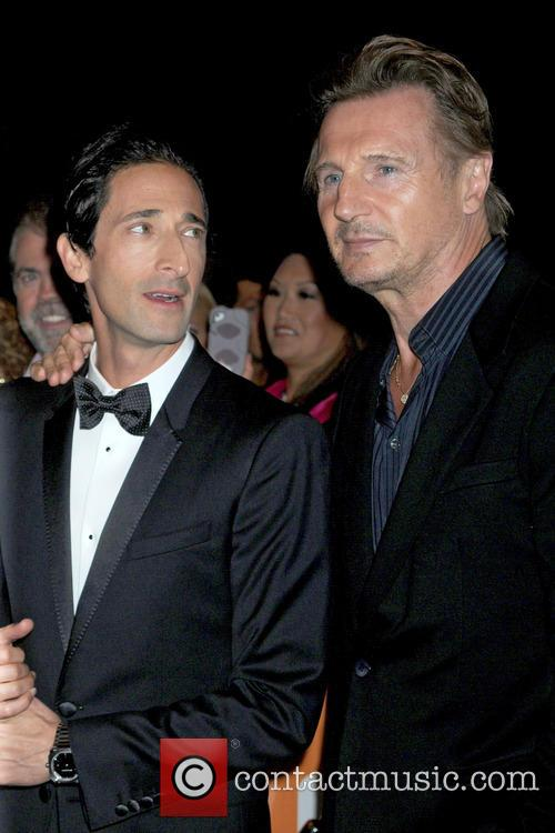 Adrien Brody and Liam Neeson