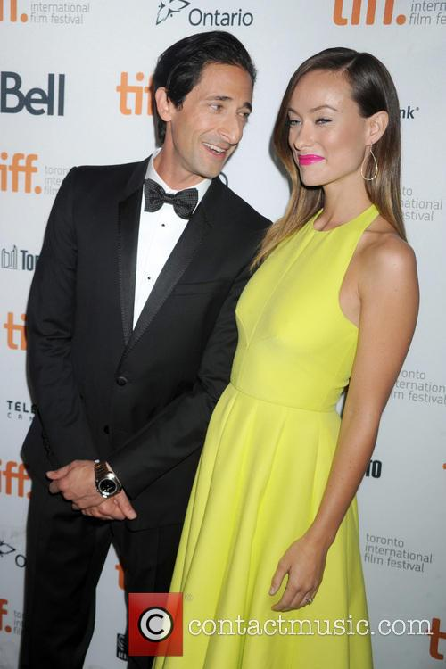 Adrien Brody and Olivia Wilde 6