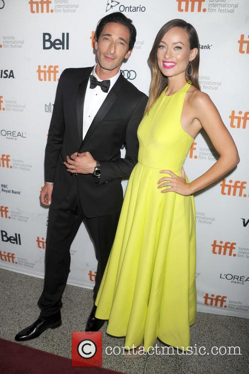 Adrien Brody and Olivia Wilde 11