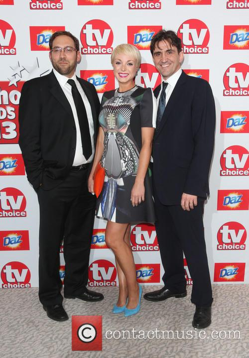 Ben Caplan, Helen George and Stephen Mcgann 5