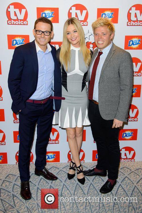 Joe Swash, Laura Whitmore and Rob Beckett 2