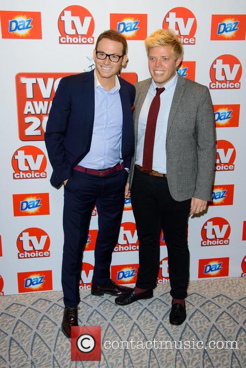 Joe Swash and Rob Beckett 1