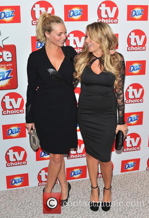Rita Simons and Samantha Womack 1