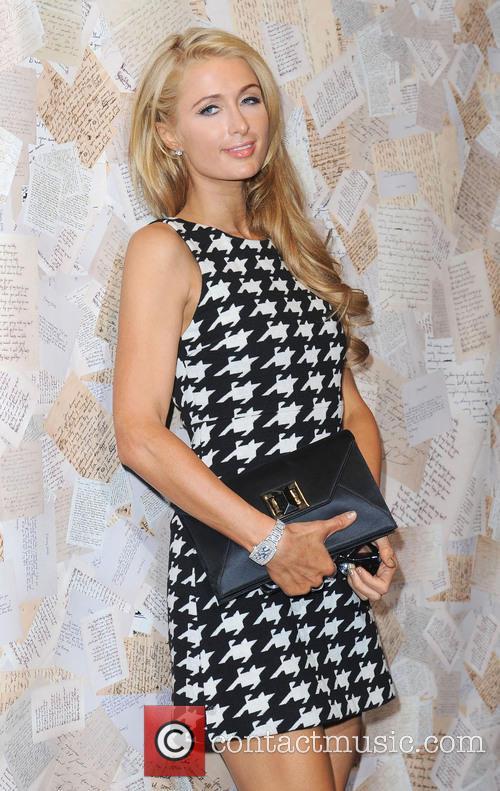 Paris Hilton, Highline Stages, New York Fashion Week