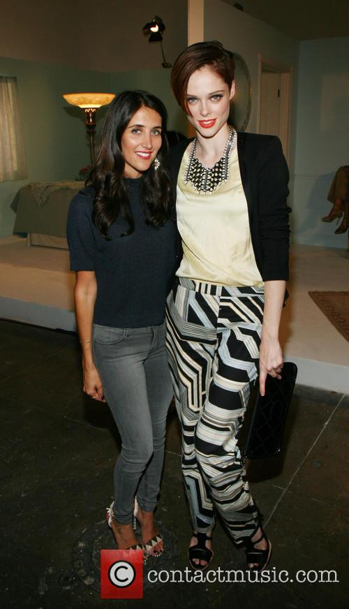 Jodie Snyder, Coco Rocha, New York Fashion Week