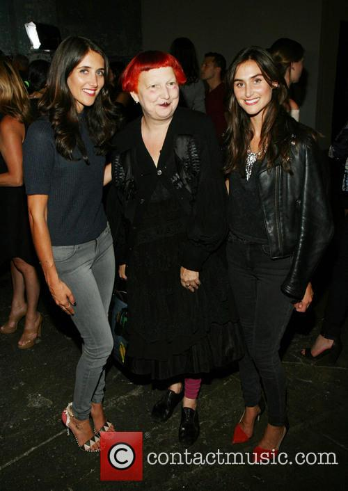 Jodie Snyder, Lynn Yaeger, Danielle Snyder, New York Fashion Week