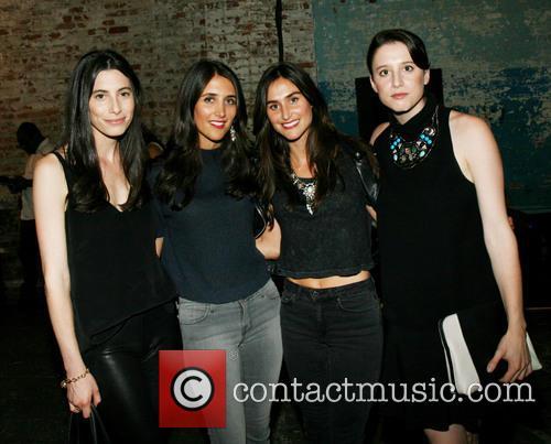 Laura Kosann, Jodie Snyder, Danielle Snyder and Danielle Kosann 2