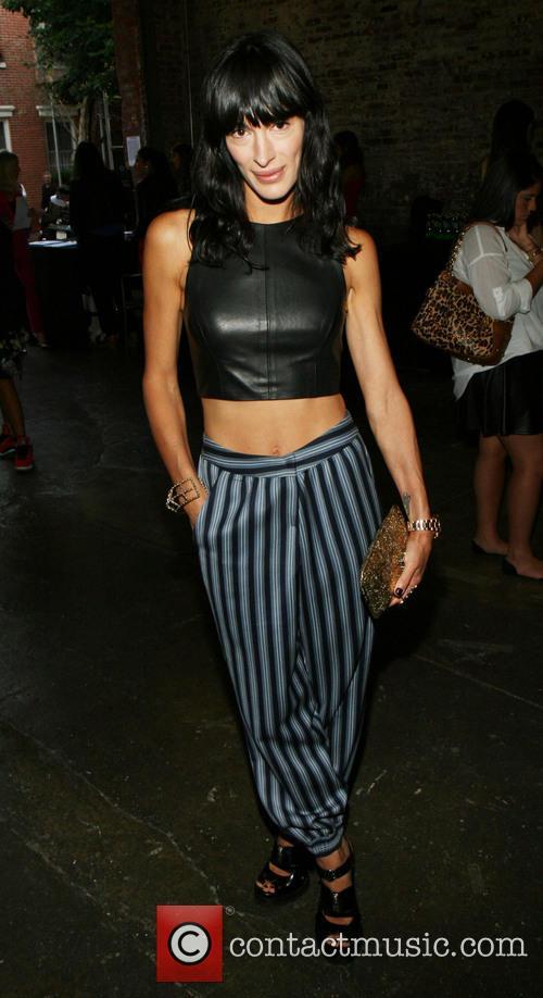 ms calderone merecedes benz new york fashion week 3858572
