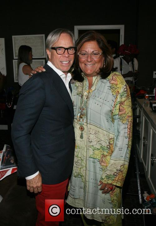 Tommy Hilfiger and Fern Mallis 3