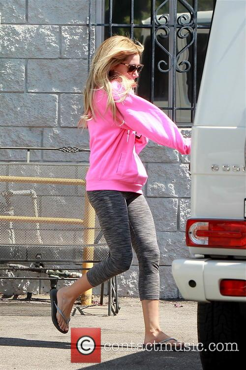 Ashley Tisdale In Pink