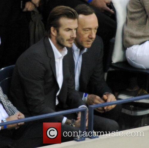 David Beckham and Kevin Spacey 8