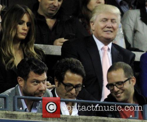 Tennis, Donald Turmp and Milania Trump 3