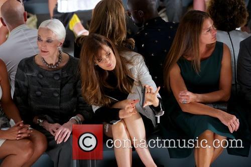 Carmen Dell'orefice, Carol Alt and Brooke Shields 2