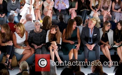 Carmen Dell'orefice, Carol Alt, Brooke Shields and Olivia Palermo 6