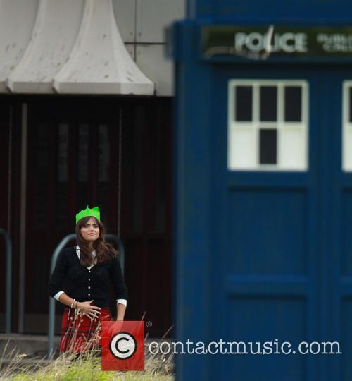 Dr Who and Jenna-lousie Coleman 2