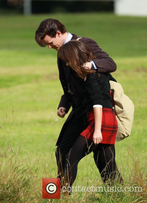 Matt Smith and Jenna-louise Coleman 3