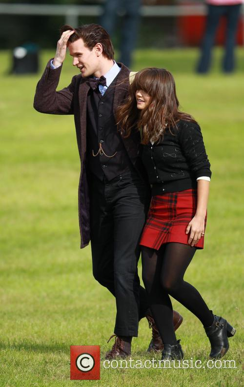 Matt Smith and Jenna-louise Coleman 6