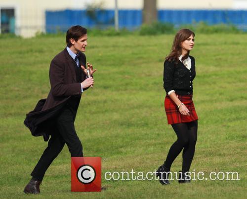 Matt Smith and Jenna-Louise Coleman 6