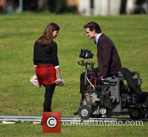 Matt Smith and Jenna-Louise Coleman 8