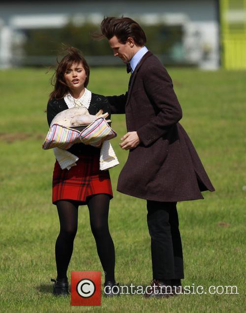 Matt Smith and Jenna-Louise Coleman 9