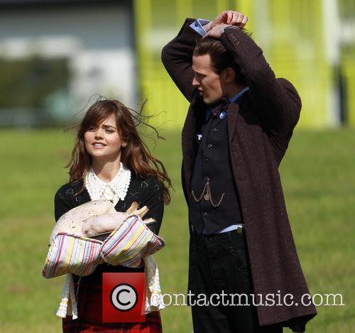 Matt Smith and Jenna-Louise Coleman 10