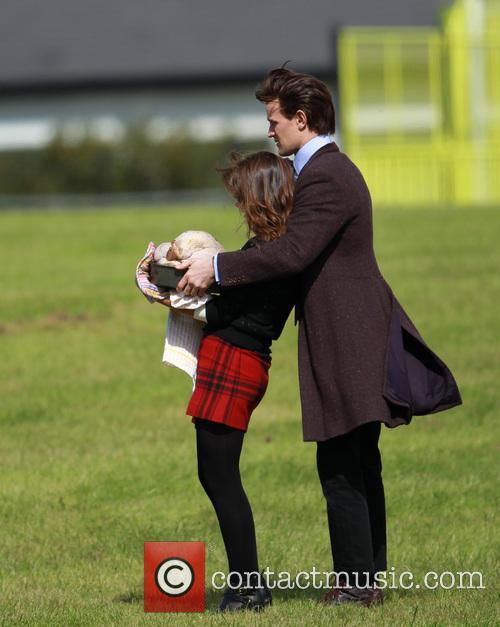 Matt Smith and Jenna-Louise Coleman 13