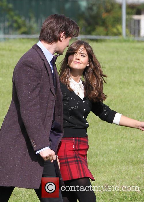 Matt Smith and Jenna Louise Coleman 2