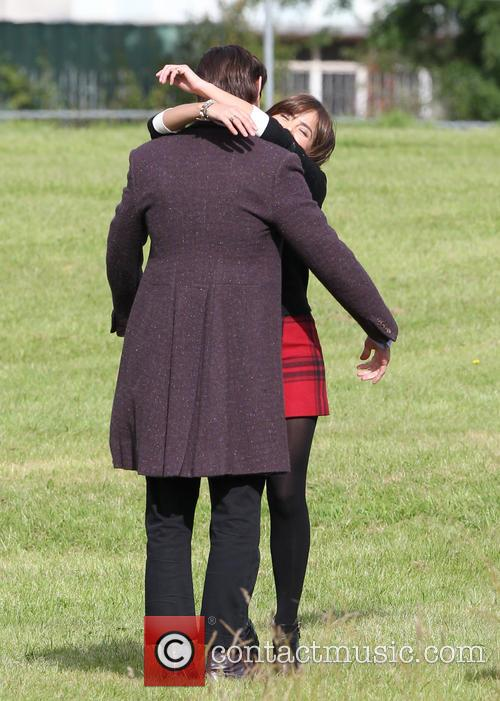 Matt Smith and Jenna Louise Coleman 3