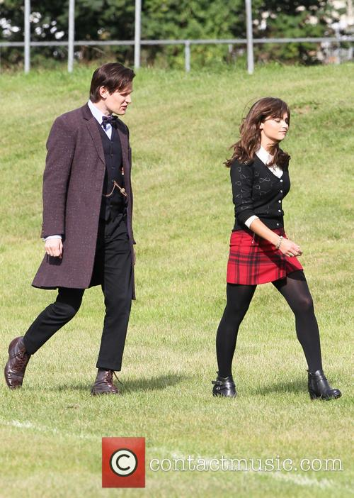 Matt Smith and Jenna Louise Coleman 4