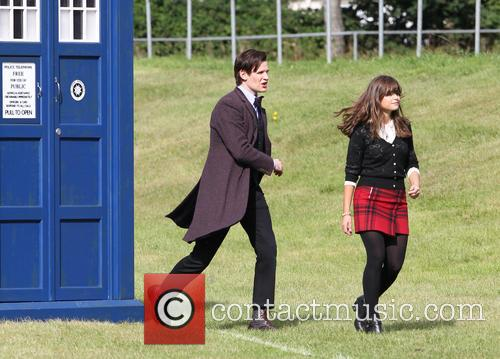 Matt Smith and Jenna Louise Coleman 5