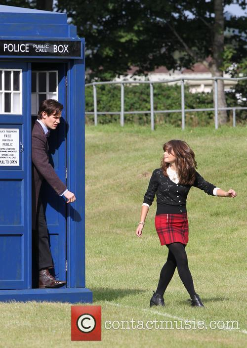 Matt Smith and Jenna Louise Coleman 6
