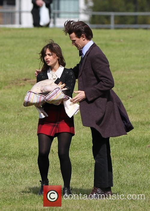 matt smith jenna louise coleman dr who christmas 3859160