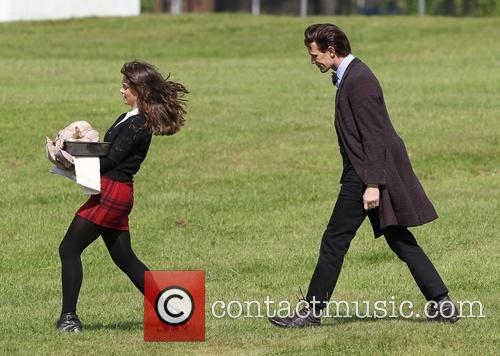 Matt Smith and Jenna Louise Coleman 1