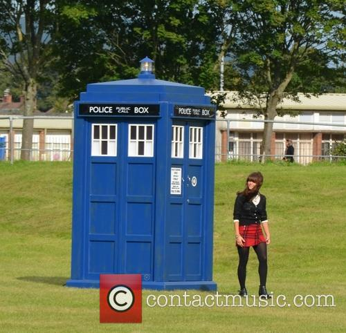 Dr Who and Jenna Coleman 10