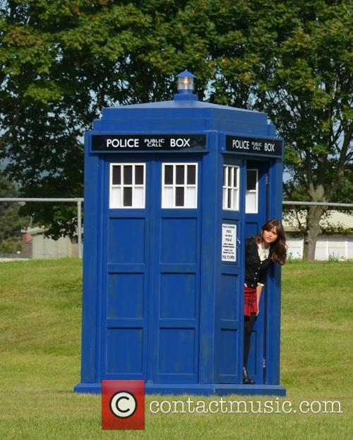 Dr Who and Jenna Coleman 4
