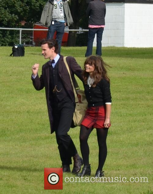 Jenna Coleman and Matt Smith 3