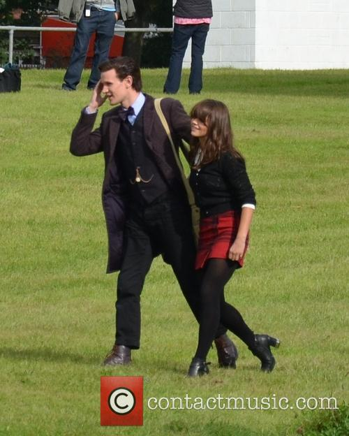 Jenna Coleman and Matt Smith 5