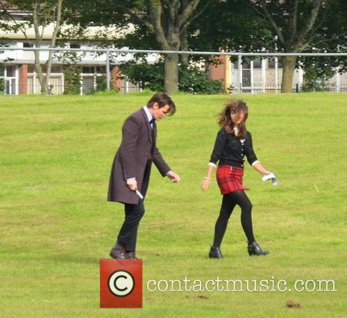 Jenna Coleman and Matt Smith 8