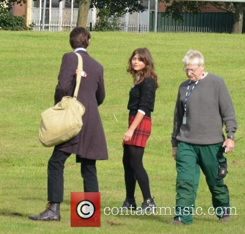 Jenna Coleman and Matt Smith 1