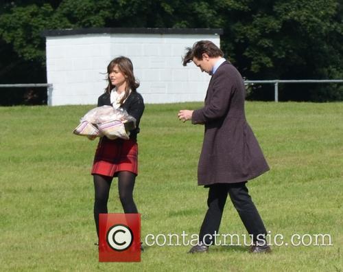 Matt Smith and Jenna Louise Coleman 9
