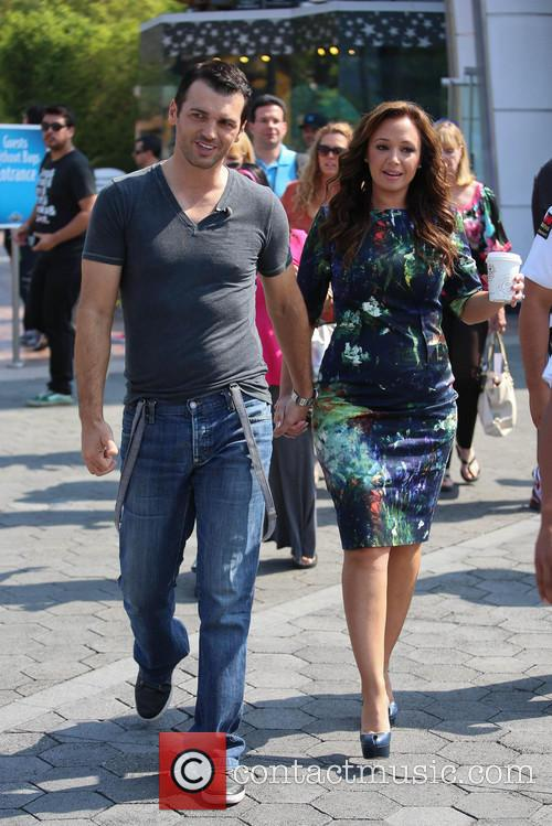 Leah Remini and Tony Dovolani 3